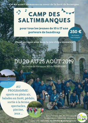 l'association Nos séjours Camp des Saltinbanques
